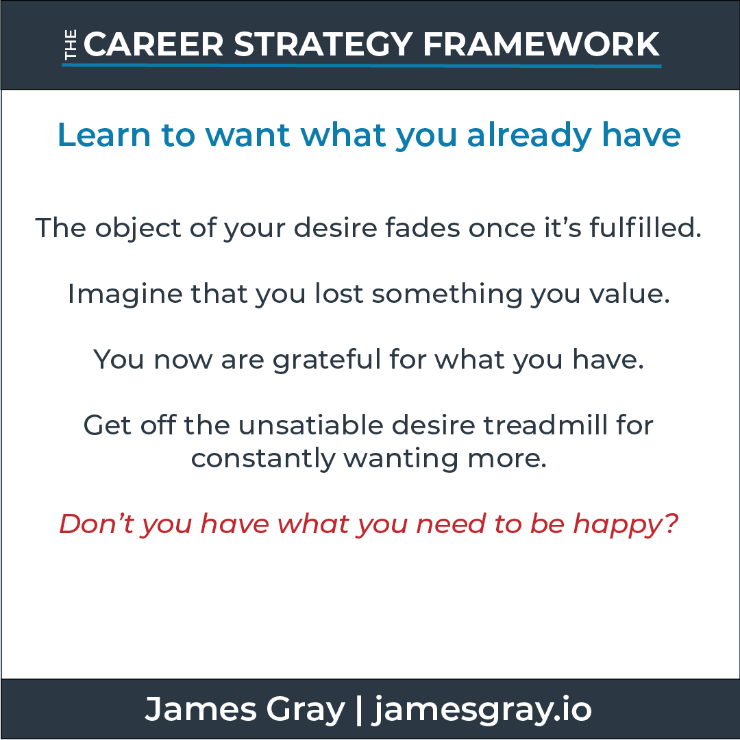 Card_Learn to want what you already have